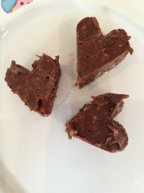 Valentines Day – Raw Brownie Lovehearts