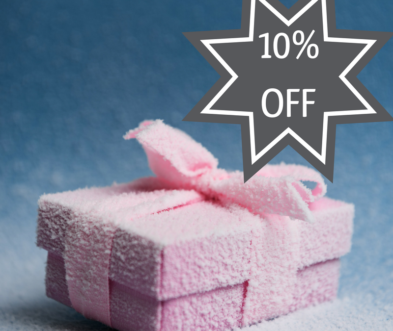 10% off Gift Vouchers