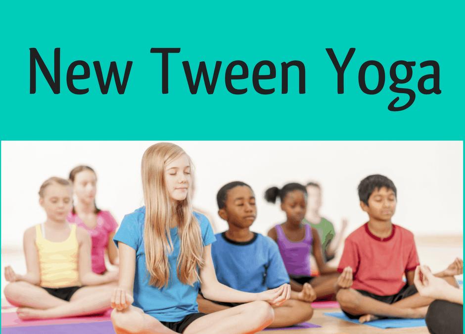 Tweens Yoga