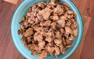 Sweet spiced nut clusters recipe