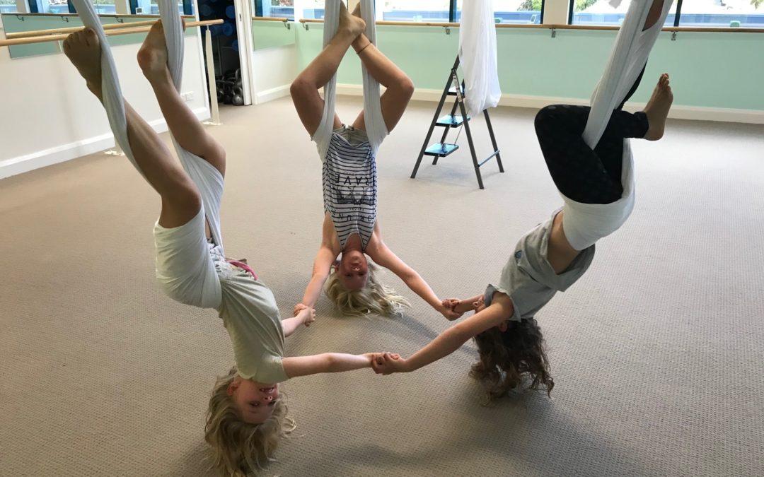 Aerial Yoga Workshop for Tweens & Teens