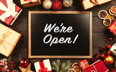 Open Over Christmas