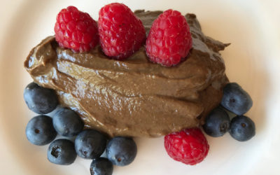 The Easiest Healthiest Chocolate Mousse Ever!