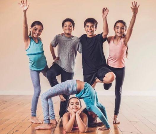 Tween trial yoga class