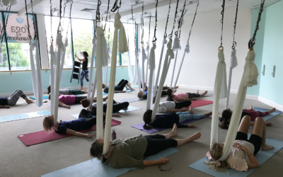 NEW! Aerial Restorative Yoga