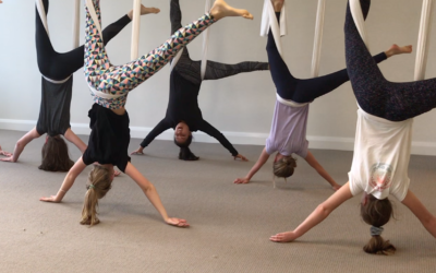 Aerial Yoga Holiday Workshop for Teens and Tweens 10+