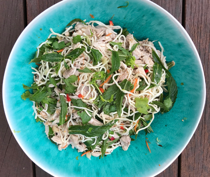 Chicken Noodle Salad Recipe