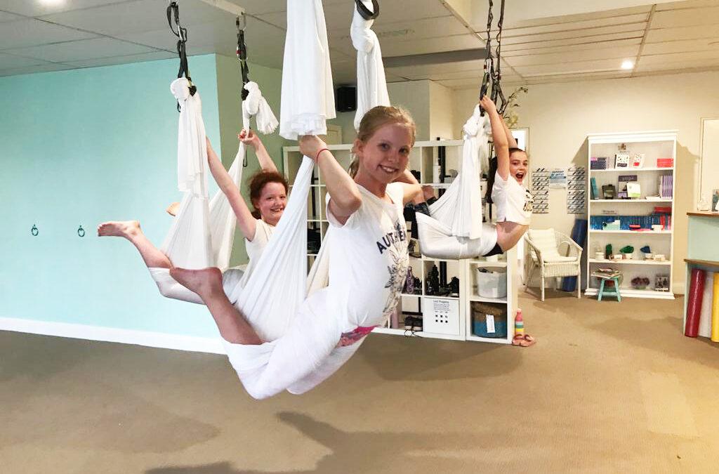 Tweens and Teens Intro to Aerial  Workshops