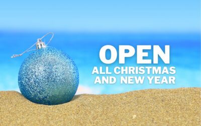 Open All Christmas and New Year
