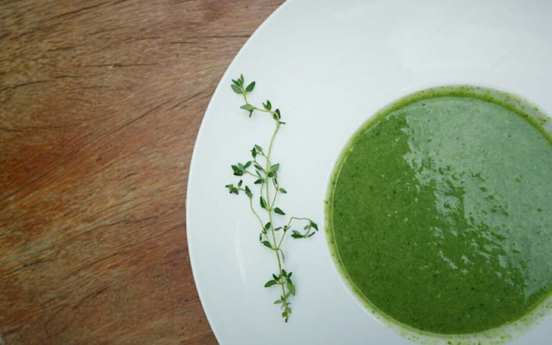 Spring's Nearly Here Green Goodness Soup